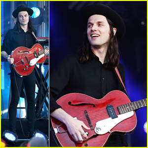 James Bay Performs On 'Jimmy Kimmel Live' - See The Pics!