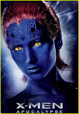 Jennifer Lawrence Brings Mystique to New 'X-Men: Apocalypse' Character Poster