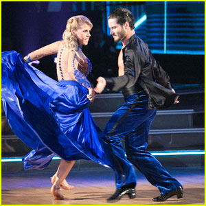 Jodie Sweetin Praises Switch-Up Partner Val Chmerkovskiy After 'DWTS' Paso Doble