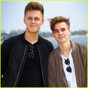 Joe Sugg & Caspar Lee Promote 'Joe & Caspar Hit the Road' in Cannes