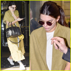 Kendall Jenner Says She Likes to Hit the Gym Solo