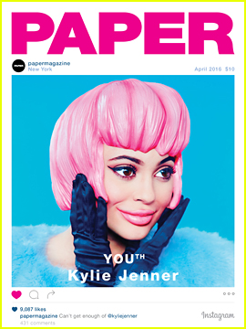 Kylie Jenner Takes The Cover Of 'Paper' Mag's YOUth Issue!