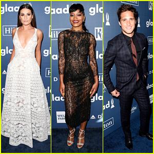 Lea Michele & Keke Palmer Team Up for GLAAD Media Awards 2016
