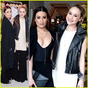 Lea Michele & Becca Tobin Make It A Girl's Day Out at Vince Camuto Launch