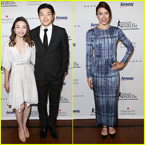 Maia & Alex Shibutani Hit Harlem Skating Gala After Shorty Awards in NYC