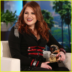 Meghan Trainor Finally Gets Her Grammy - Watch Now!