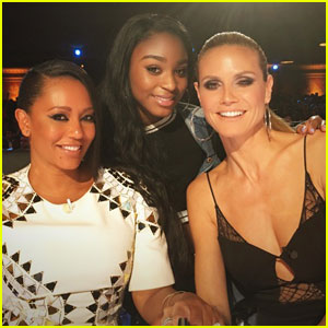 Fifth Harmony's Normani Kordei Hangs With Mel B at 'America's Got Talent'