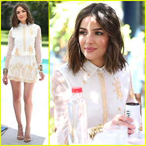 Olivia Culpo Enjoys Brunch Outside of Coachella 2016