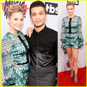 Olivia Holt & Jordan Fisher Attend iHeartRadio Music Awards 2016 Together
