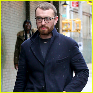 Sam Smith & Friends Step Out for Chilly Stroll in NYC