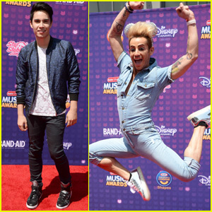 Sam Tsui & Frankie Grande Stop by the RDMA 2016