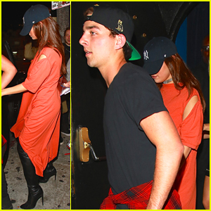 Selena Gomez & Friend Hold Hands After Night Out Together
