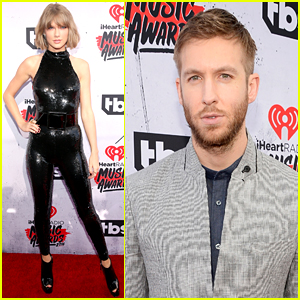 Taylor Swift Attends the iHeartRadio Music Awards 2016 with Boyfriend Calvin Harris!