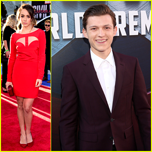Tom Holland Hits 'Civil War' Premiere With 'Agents of S.H.I.E.L.D.' Cast