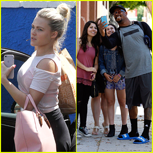 Witney Carson & Von Miller Take On The Running Man Challenge During DWTS Practice