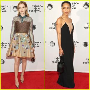 Zoey Deutch & Zoe Kravitz Bring 'Vincent N Roxxy' to Tribeca Film Festival 2016