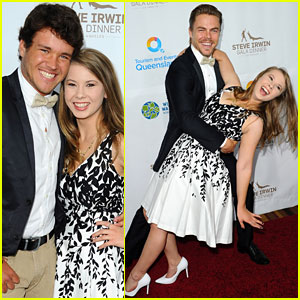 Bindi Irwin Reunites With Derek Hough at Steve Irwin Gala Dinner in LA