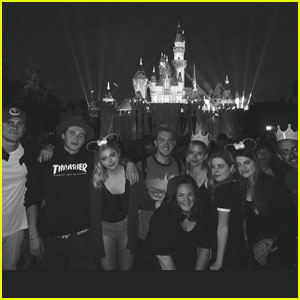 Chloe Moretz Spends the Day at Disneyland With Brooklyn Beckham!