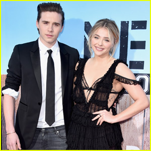 Chloe Moretz & Brooklyn Beckham Make It Red Carpet Official at 'Neighbors 2' Premiere