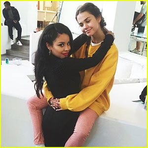 Maia Mitchell Crashes Cierra Ramirez' Music Video Shoot