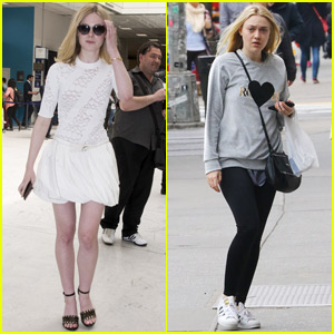 Elle Fanning Jets to France for Cannes Film Festival