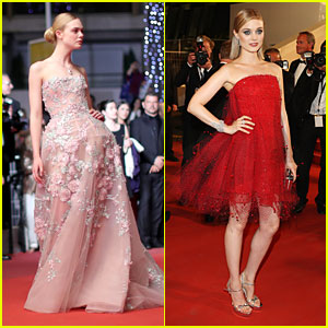 Elle Fanning Steals The Show at 'Neon Demon' Premiere in Cannes