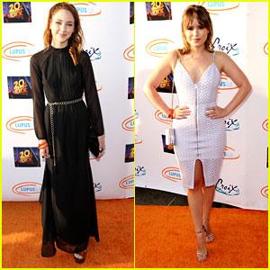 Haley Ramm & Taylor Spreitler Glam Up for Lupus LA's Orange Ball 2016