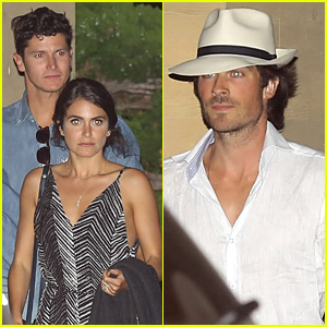 Nikki Reed Celebrates 27th Birthday Early at Dinner with Ian Somerhalder!