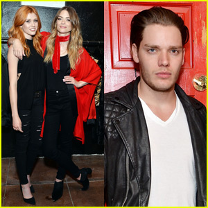 Katherine McNamara & Dominic Sherwood Support Jaime King at 'Final Chapter' Event