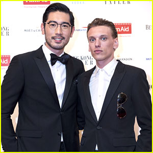 Jamie Campbell Bower Reunites With Godfrey Gao at Asia Power of Film Gala 2016