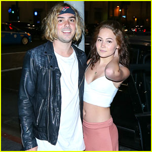 Kelli Berglund & Tyler Wilson Grab Dinner Out At Katsuya