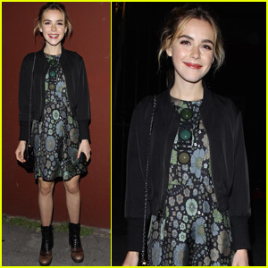Kiernan Shipka Has a Fun Night Out in LA