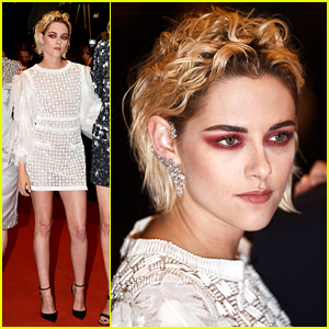Kristen Stewart Rocks Bold Eye Look at 'Personal Shopper' Cannes Premiere