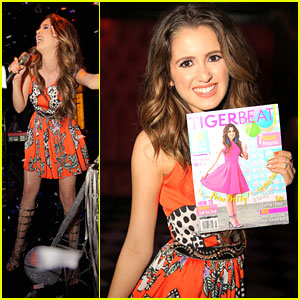 Laura Marano Performs 'Boombox' at Tiger Beat Magazine's Launch Event