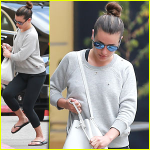 Lea Michele Treats Mom Edith For Pre-Mother's Day SoulCycle