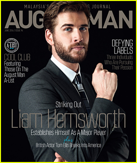 Liam Hemsworth Lands June 2016 Cover of 'August Man' Magazine (Exclusive)