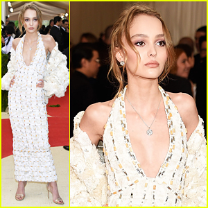 Lily-Rose Depp Makes Her Met Gala Debut!