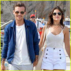 Louis Tomlinson Enjoys Monaco Grand Prix With Danielle Campbell