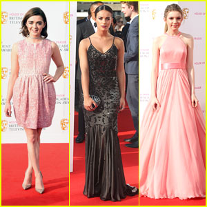Maisie Williams & Georgia May Foote Stun At BAFTA TV Awards 2016 in London