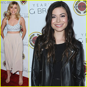 Miranda Cosgrove & Jennette McCurdy Meet Up For City Year Los Angeles's Spring Break Event