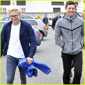 Niall Horan & Rory McIlroy Hang Before His Big Golf Victory!