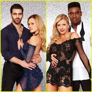 Nyle DiMarco & Jodie Sweetin Dance Together For Judge's Team Challenge on DWTS (Video)