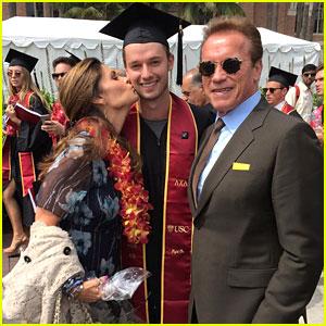 Patrick Schwarzenegger Graduates From USC!