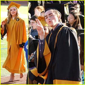 Peyton List & Brother Spencer Graduate High School!