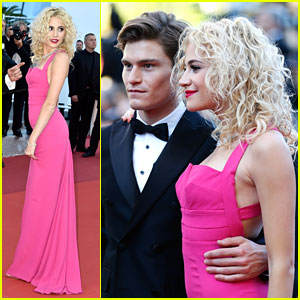 Pixie Lott & Oliver Cheshire Are The Couple Of the Hour At 'From The Land Of The Moon' Cannes Premiere