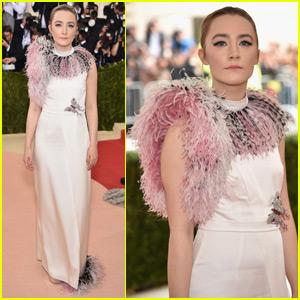 Saoirse Ronan Steps Out at Met Gala 2016