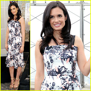 Torrey DeVitto Lights Up The Empire State Building Green For Mental Health Awareness
