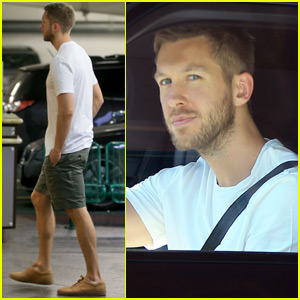 Calvin Harris Steps Out For Doctors Appointment For First Time Since Taylor Swift Split