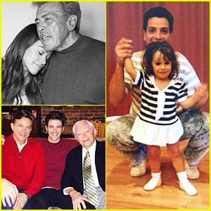 Gina Rodriguez, Lea Michele, Riker Lynch & More Celebrate Father's Day