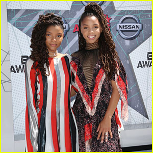 Chloe x Halle Walk BET Awards 2016 Red Carpet!